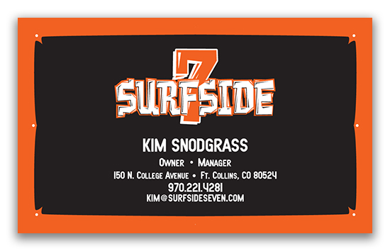 Surfside 7 Business Card