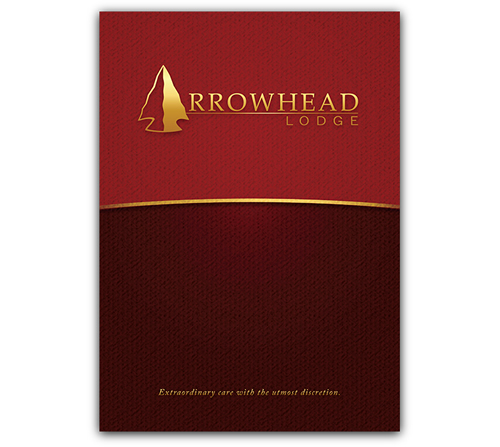 Arrowhead Lodge Custom Brochure