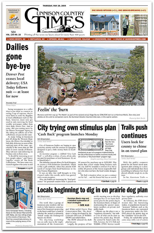 Layout Sample Gunnison Country Times A1