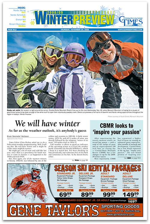 Gunnison Country Times Winter Preview