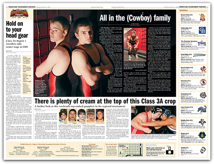 Gunnison Country Times Wrestling Preview